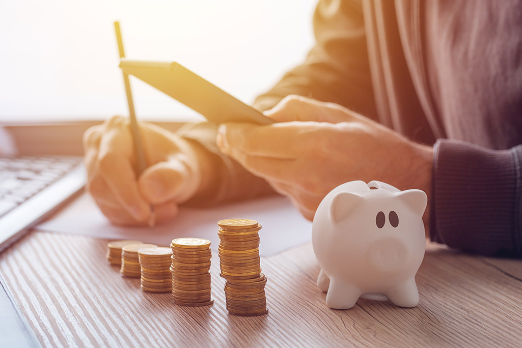 piggy bank of reserve funds for community associations