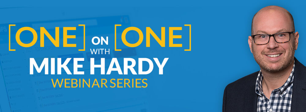 [ONE] on [ONE] with Mike Hardy