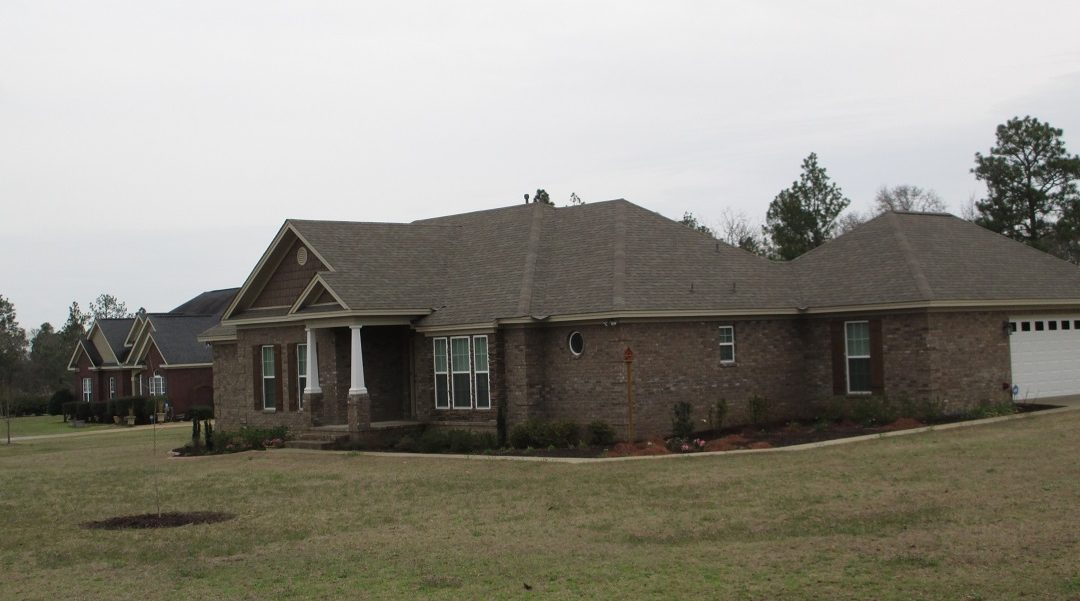 New Shingle Roof in Montgomery, AL