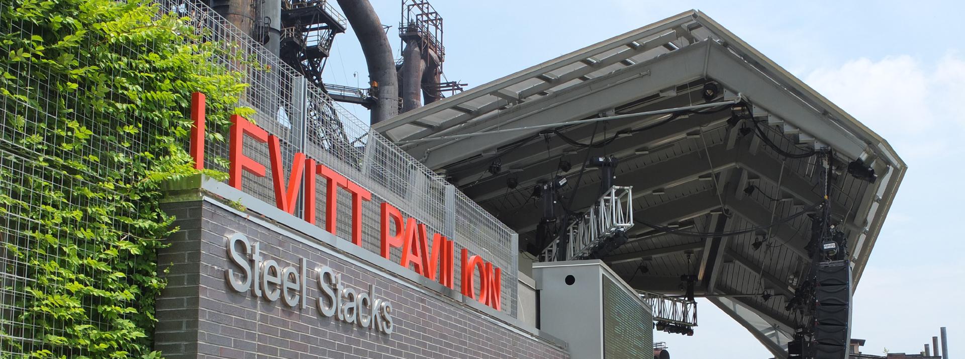 Levitt Pavilion SteelStacks