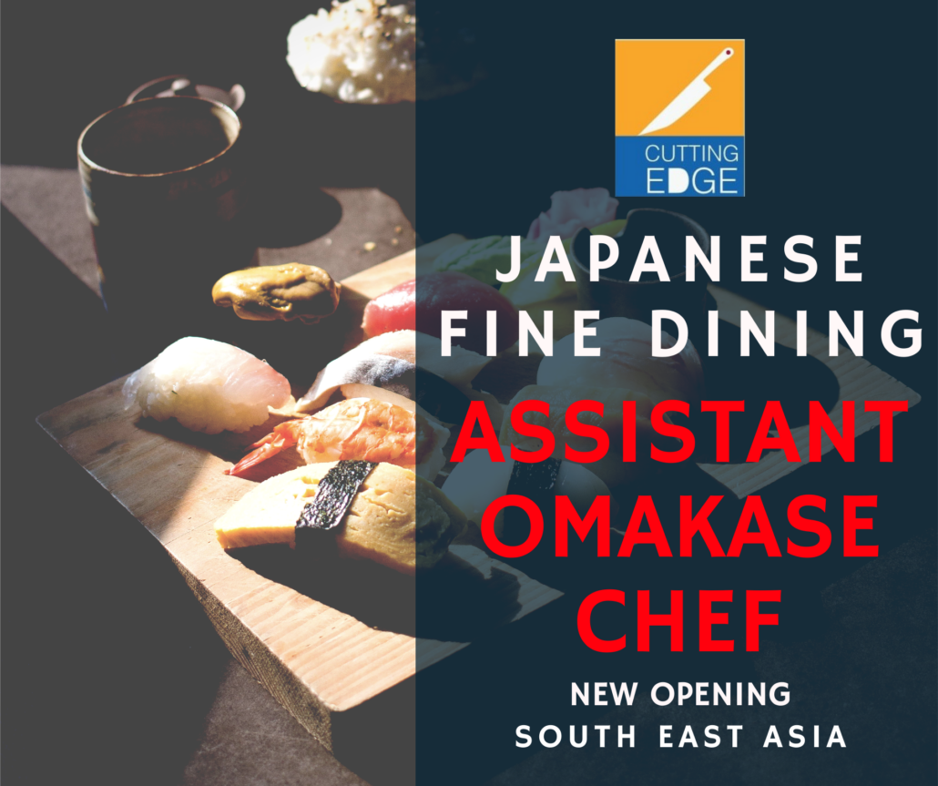 Assistant Omakase and Sushi Chef