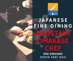 Assistant Omakase Sushi Chef
