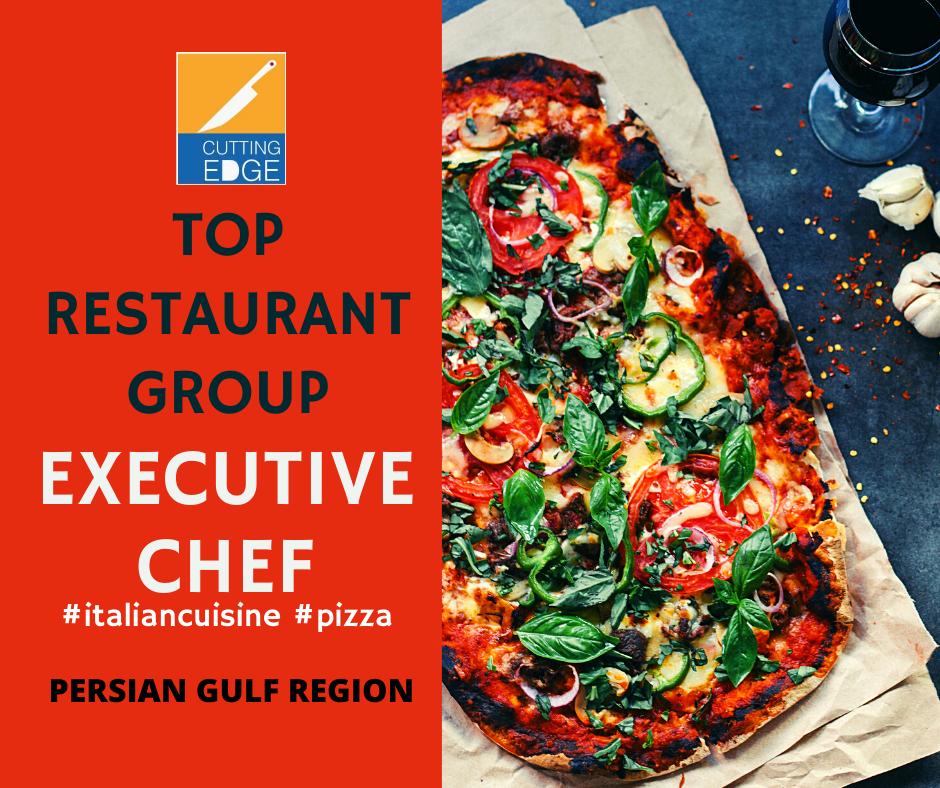 pizza chef, executive chef