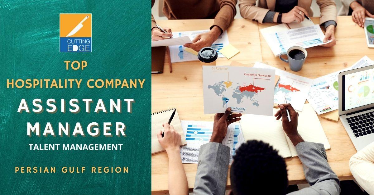 Assistant Manager-Talent Management