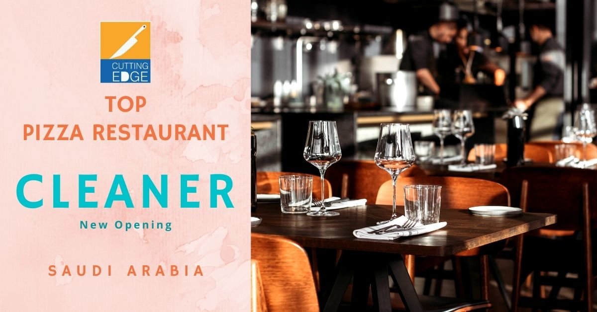 Cleaners For Top Pizza Restaurant