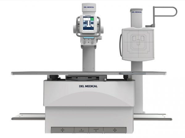 DEL Floor Mounted Tubestand X-Ray System