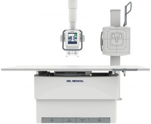 DEL Overhead Tubestand X-Ray System