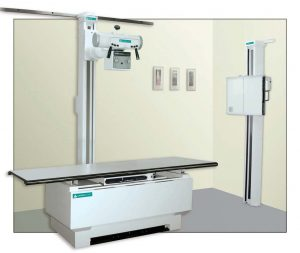 Americomp 4 Way Float Table X-Ray System