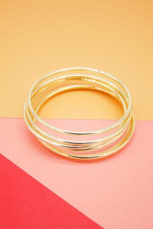 18k gold layered jewelry bracelet