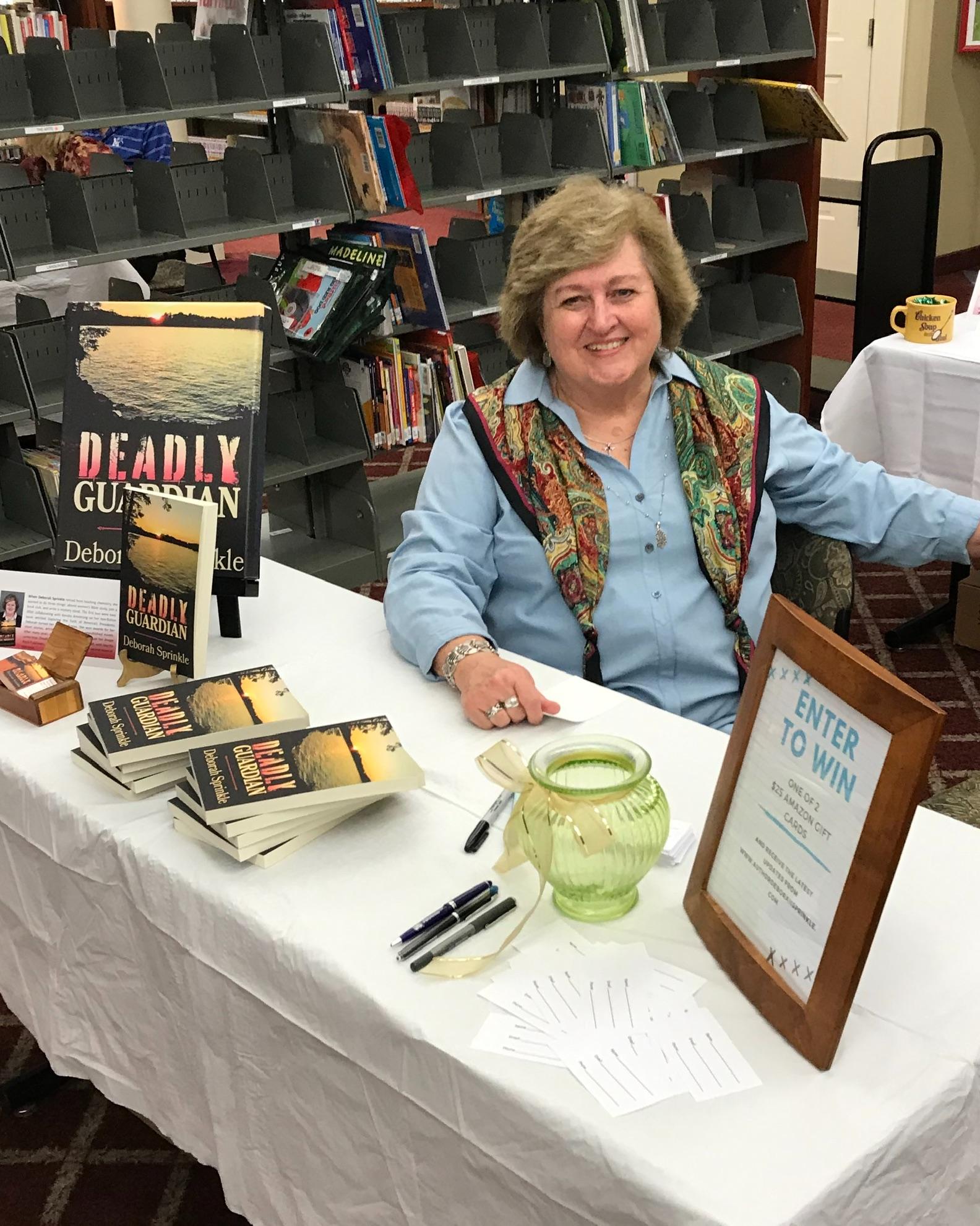 Deborah Sprinkle Book Signing