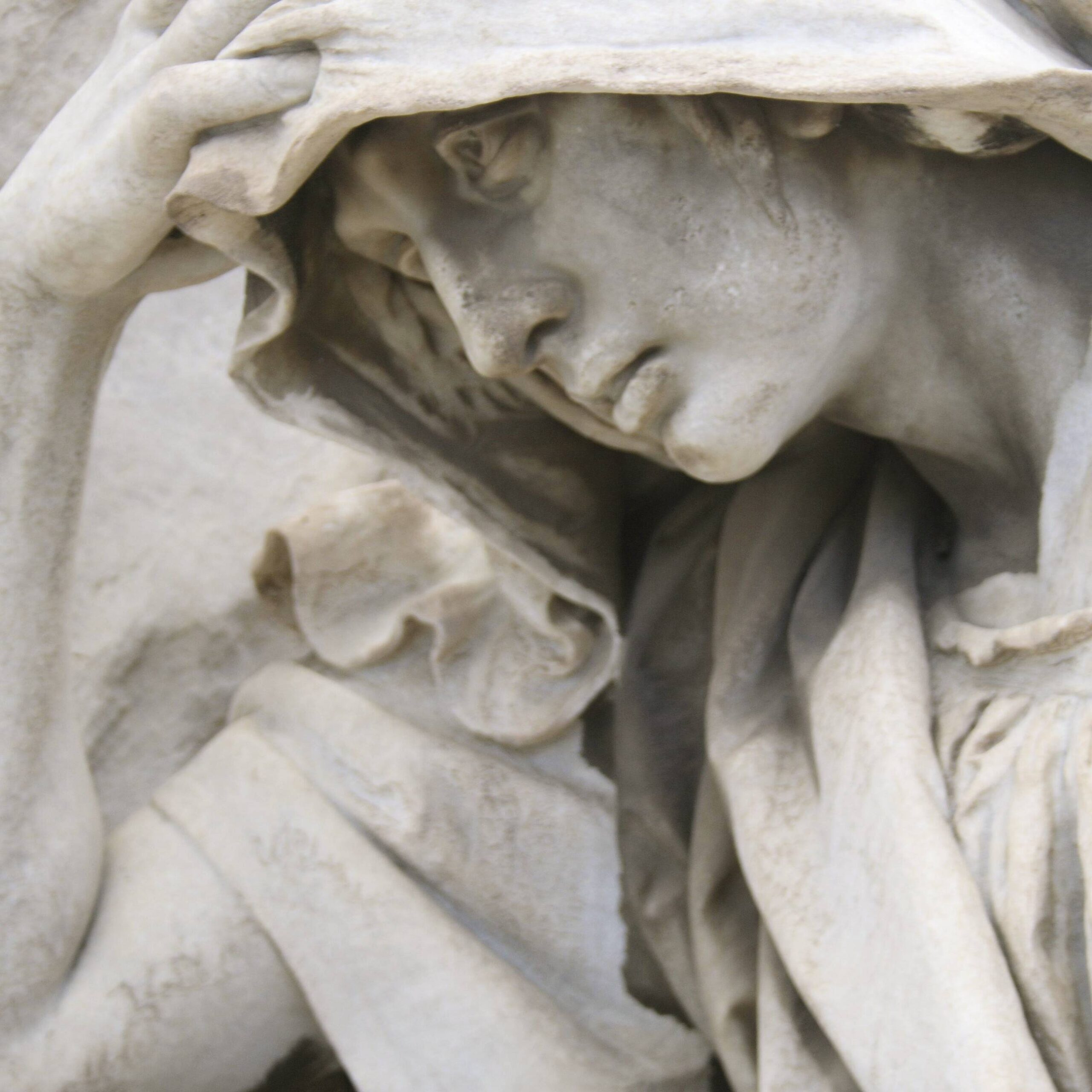 statue in cemetery in Grave Consequences by Debra DuPree Williams