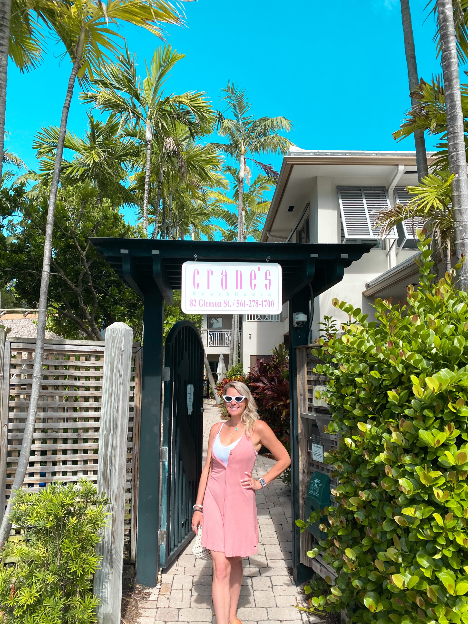 Staycation at Crane's Beach House, Delray