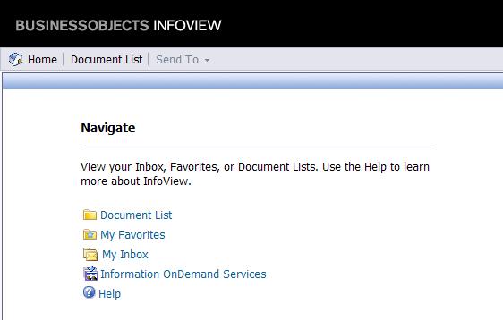 Customized Infoview XI 3.1