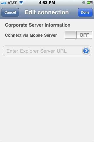 Explorer using Explorer (polestar) URL