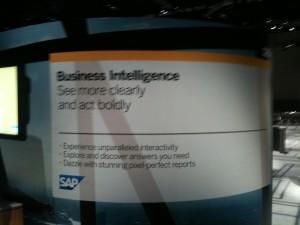 SAP SAPPHIRE 2011 Business Intelligence