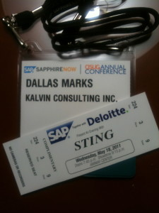 SAP SAPPHIRE 2011 Badge