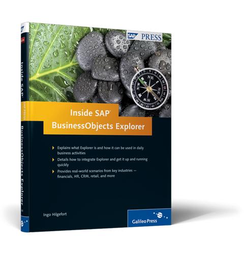 Inside SAP BusinessObjects Explorer by SAP Press