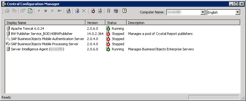 Adding Central Configuration Manager (CCM) to Windows Server Startup Folder