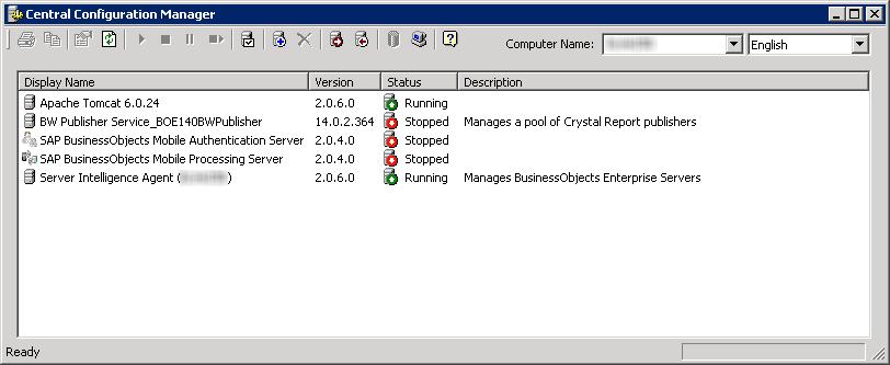 Adding Central Configuration Manager (CCM) to Windows Server Startup Folder