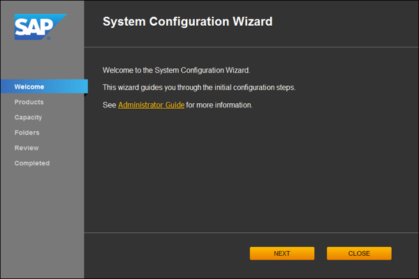 BI41 System Configuration Wizard Medium 600 02