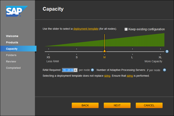 BI41 System Configuration Wizard Medium 600 04