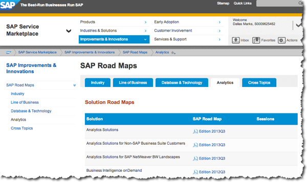 SAP Analytics Roadmaps: What's New and What's Next?
