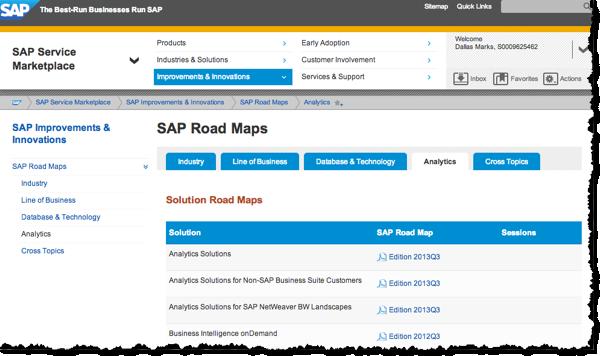 SAP Analytics Roadmaps: What's New and What's Next?
