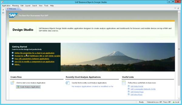 Overdesigning BI Architecture for SAP Design Studio