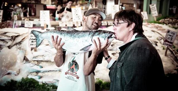 World Famous Pike Place Fish Market