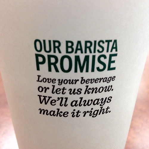 The Business Intelligence Barista Promise