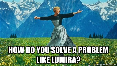 How do you solve a problem like Lumira?
