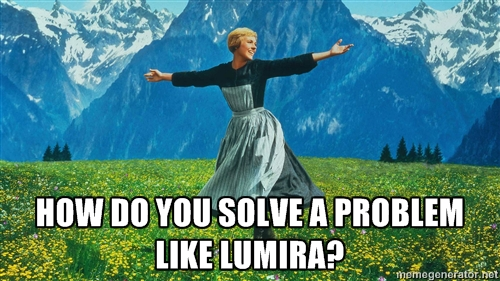 How Do You Solve a Problem Like Lumira (Governance)?