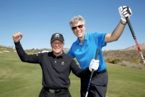 SAP Digital Golf Course Bill McDermott and Gary Player