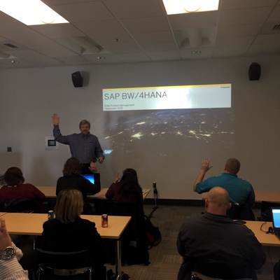 Storm Archer introduces SAP BW/4HANA at ASUG Developer Tools Day 2016