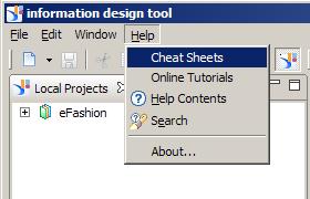 Information Design Tool Help
