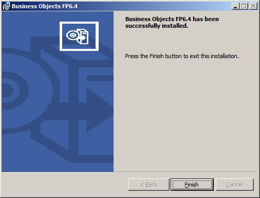 BusinessObjects XI R2 SP6 FP6.4