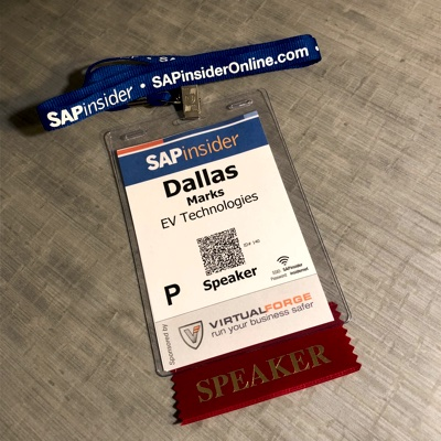 SAP Insider Reporting and Analytics INTERACTIVE badge