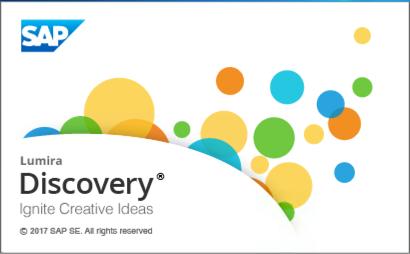 SAP Lumira Discovery 2.0 Splash Screen