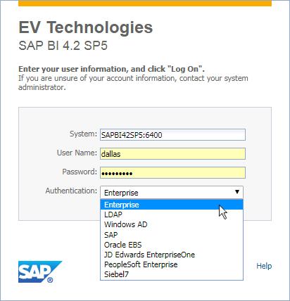 SAP BusinessObjects 4.2 SP5 BI Launch Pad customization