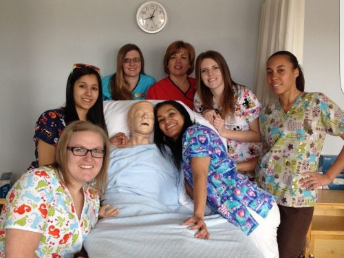 certified nurse aide cna course session