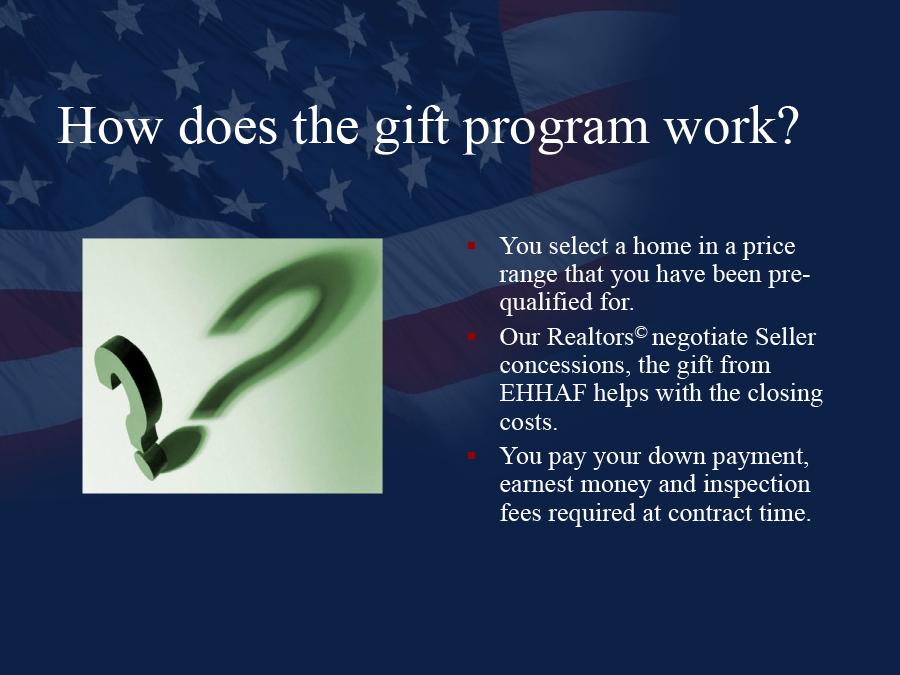 Gift Presentation