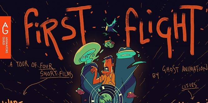 Ghost Animation – Post the 'First Flight' Tour