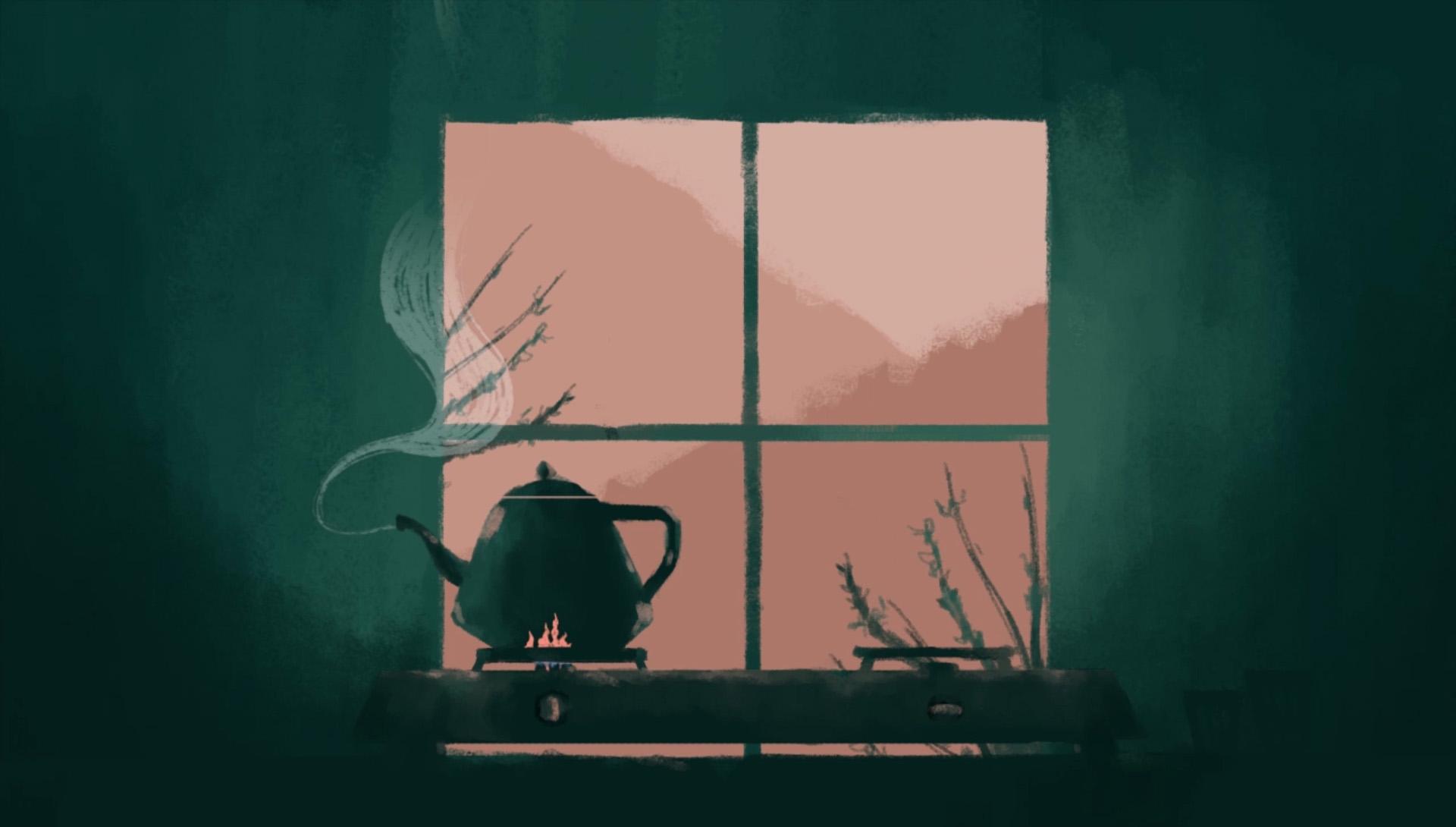 tea pot illustration