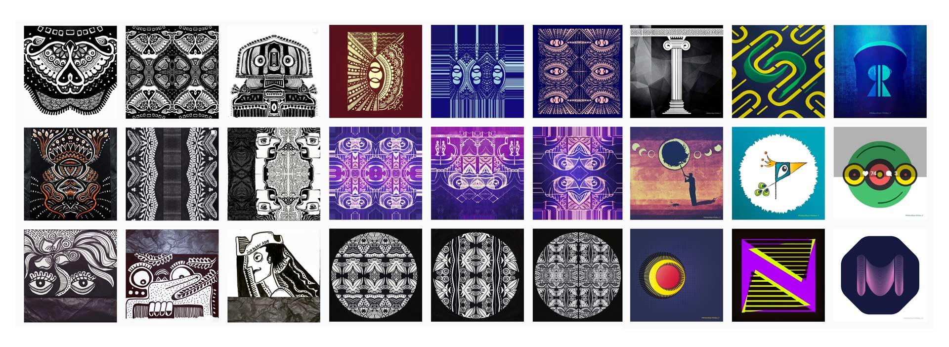 Pattern Gram Taniya Vij