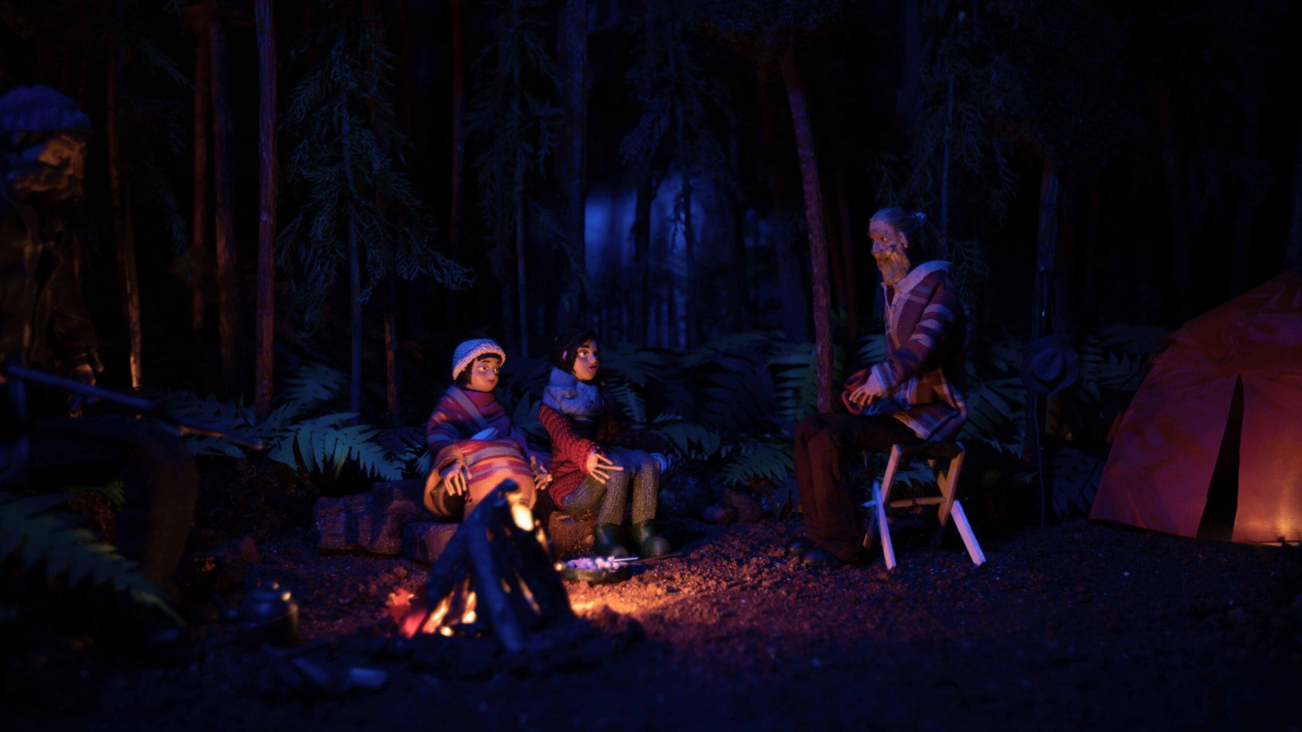 family bonfire