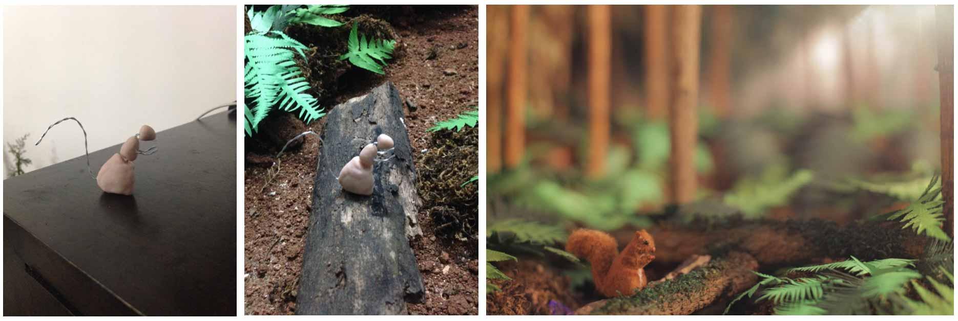 Prop squirrel