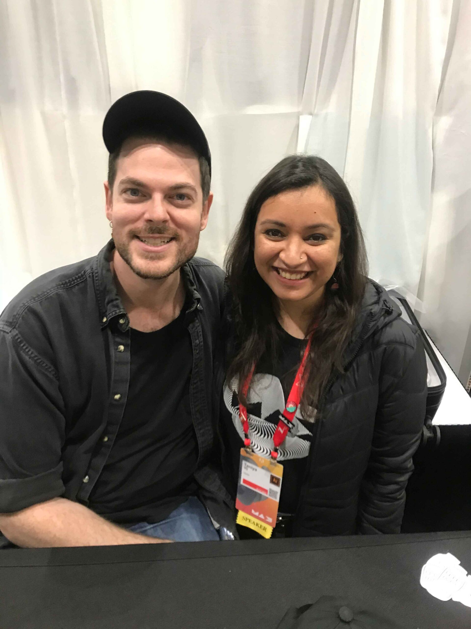 Taniya with Adam Kurtz