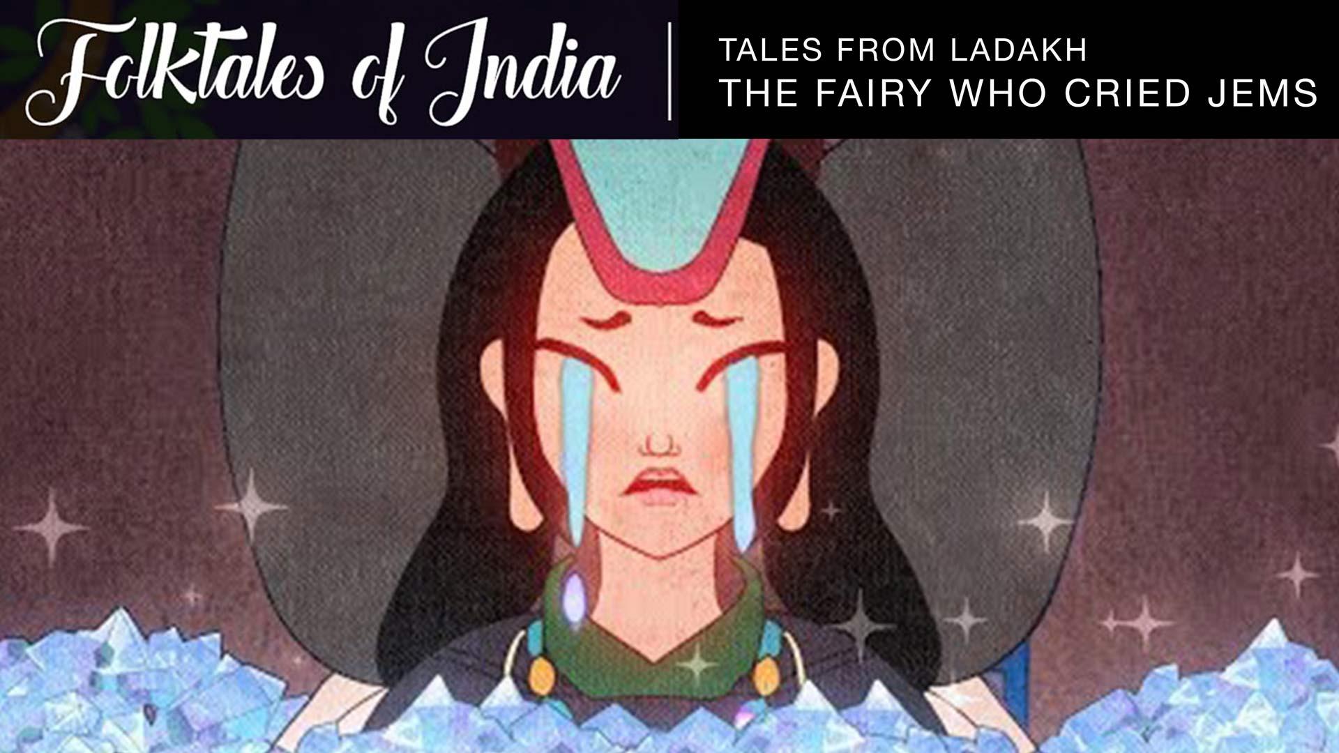 fairy crying gems