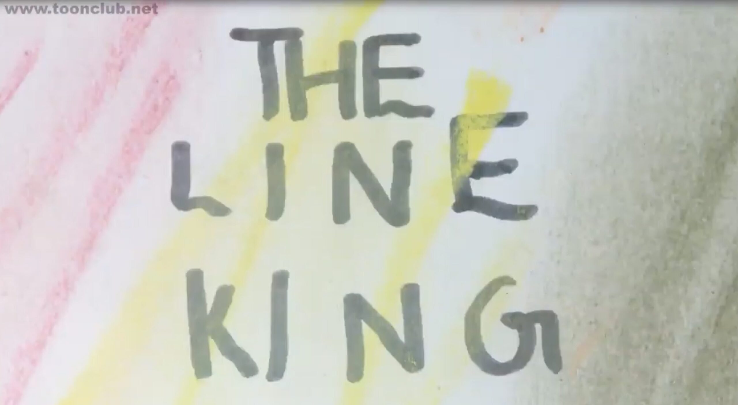 Line king text