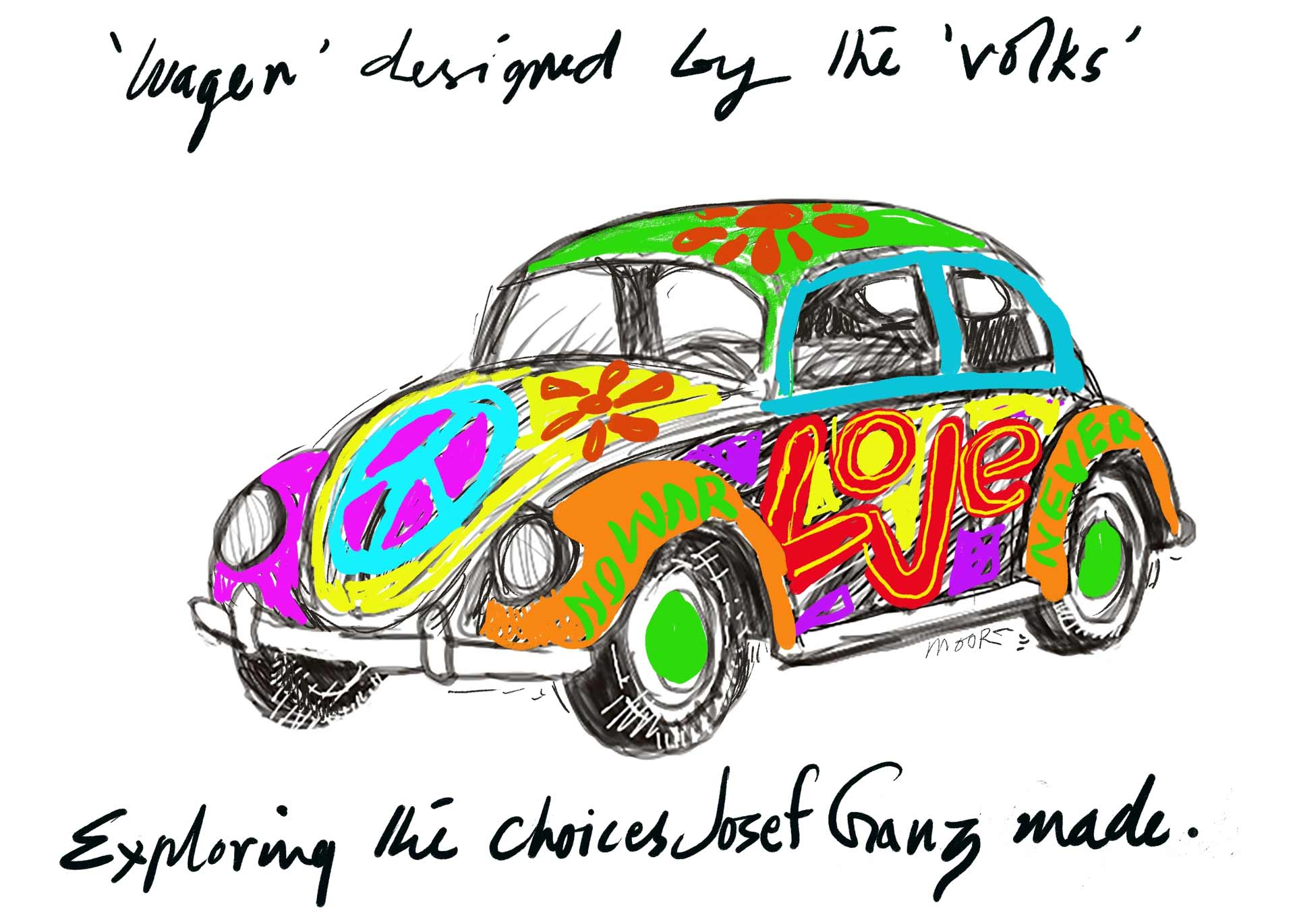 Love buggy car
